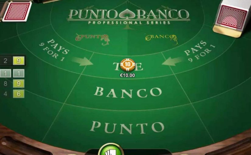 How to Play Punto Banco Baccarat