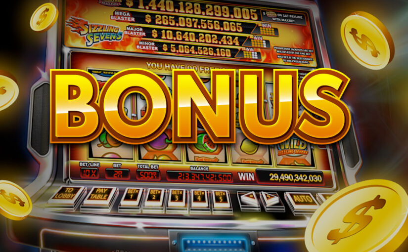 Types of Slots Bonuses Offered to Casino Players